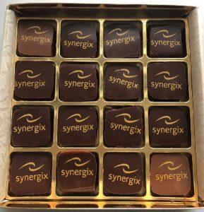 chocolats logotes entreprise