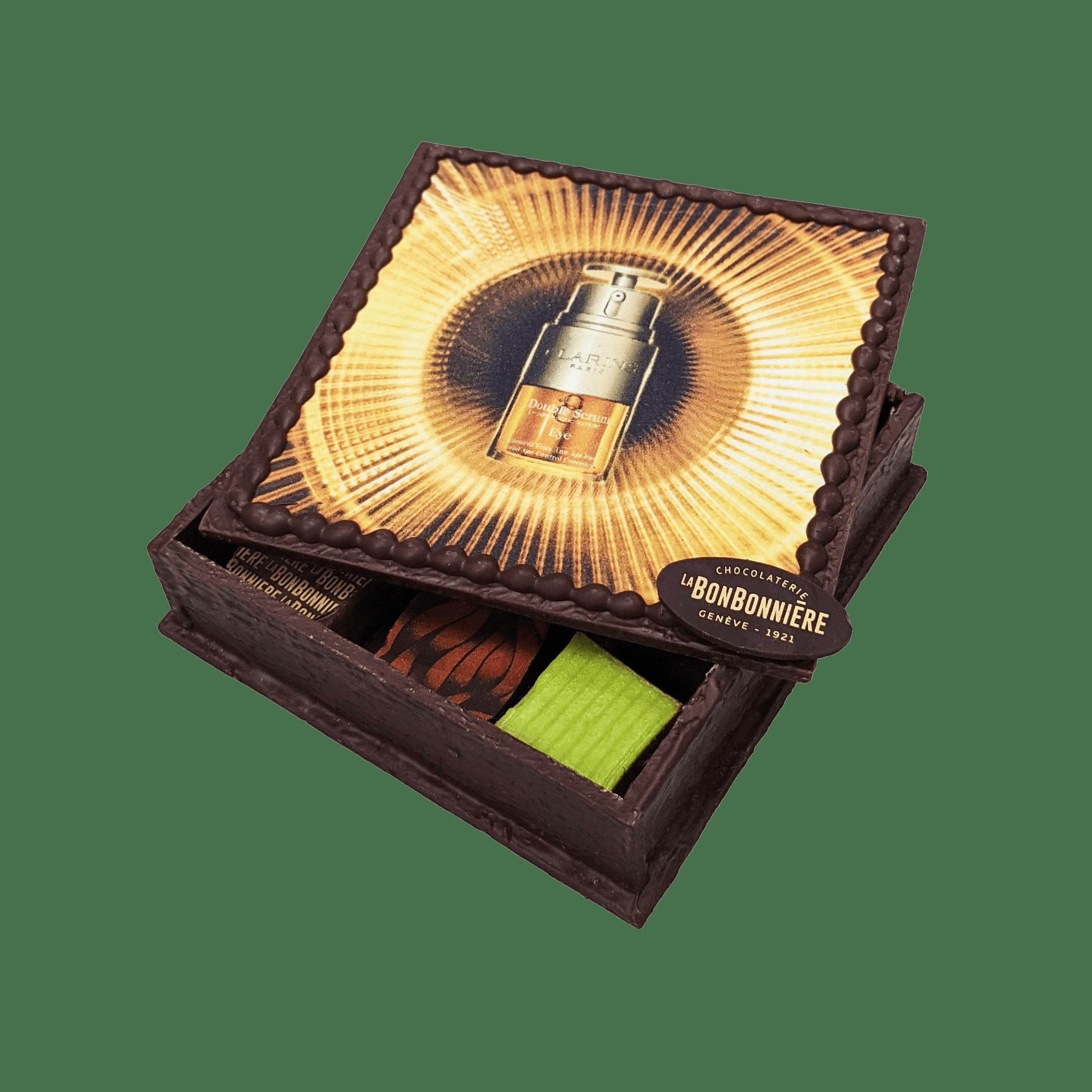 boite en chocolat personnalisée pour entreprise à Genève